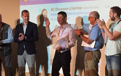 VideoLocalize wins the Process Innovation Challenge at LocWorld Barcelona