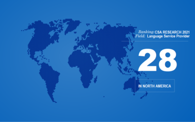 Boffin Language Group Ranks Among North America's Top 30 Largest LSPs